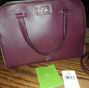 Kate Spade small felix, kay street pebble